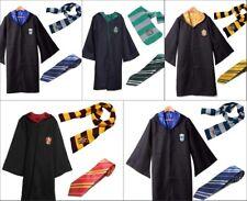 Harry Potter Robe Schal Krawatte Uniform Komplettkostüm Gryffindor Cosplay Dress