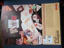 Royal Mail A4 Post Office 1993 Poster Prestige Beatrix Potter Rabbit No Sticker