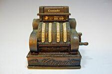 Vintage Play Me National Contado Cash Register Pencil Sharpener Made In Spain