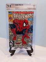 Spider-Man #1 PGX 9.8 Signed Todd McFarlane (Not CGC)  1990