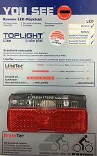 B&M Toplight Line Brake Plus LED Rücklicht 50 mm Bolzenabstand
