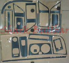 DUCATO JUMPER RELAY BOXER 06-2013 Dash Trim Kit 3m 3d EFFETTO CARBONIO 16 PEZZI RHD