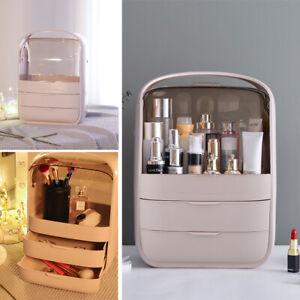 Desktop Cosmetic Organizer Plastic Drawers Box Stationery Jewellery Storage Case