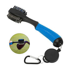 Golf Club Brush Cleaner Retractable Groove Sharpener Cleaning Kit Washer Tool