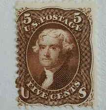 US Sc #76a Mint Black Brown super fresh