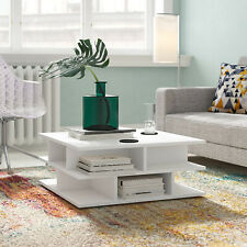 Coffee Table White Home Drawing Living Room Inside