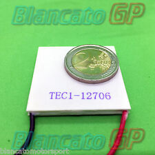 CELLA DI PELTIER TEC1-12706 12V 6A Qcmax 36W Thermoelectric Cooler Cooling 40x40