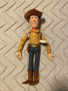 Disney Thinkway Toy Story Woody Pull String Talking Doll, 15 Inches, Works!