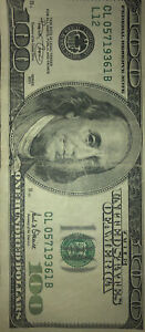 old 100 dollar bill