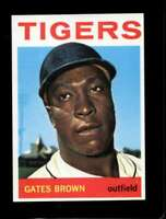 1964 TOPPS #471 GATES BROWN NMMT (RC) TIGERS *SBA4634