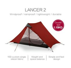 LanShan 2 3F UL GEAR 2 Person 1 Person Outdoor Ultralight Camping Tent S03 & S04