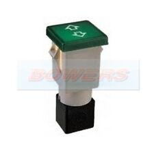 GREEN ROUND WARNING INDICATOR LIGHT CAR 12V CLASSIC KIT DASH ROBINSON K143