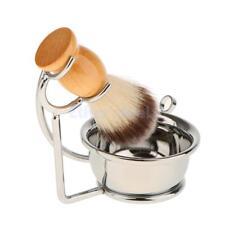 3 In 1 Rasierset mit Rasierschüssel Rasierständer und Rasierpinsel Salon,