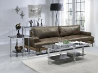 Acme Furniture Coffee Table-Chrome & Glass Taiwan