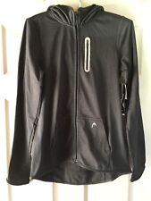 HEAD Zippered Hoodie Jacket, Dark Gray, Medium, NWT