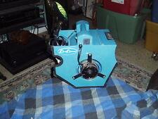 Vintage Original BLUE BLOWER Auto Boat Travel Utility FAN W/ Lighter Plug Works!