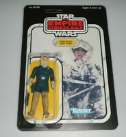 *RECARDED* 1980 Star Wars ESB Han Solo Figure Complete Sealed *CUSTOM Card Back*