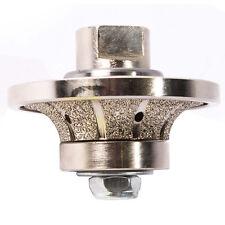 "GraniteTool 1/2"" Radius Diamond Profile Wheel Vaccuum Brazed BullnoseRound 12Rpw"