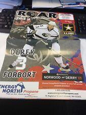 Manchester Monarchs AHL Hockey 3/7/15 Program (LA Kings) v Wilkes Barre Penguins