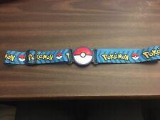 Pokemon Clip N Go Poke Ball Belt Blue Pokeball