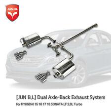 Dual Axle-Back Exhaust for HYUNDAI 15 16 17 18 19 SONATA 2.0T [JUNB.L]