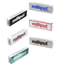 Milliput-Turchese-standard-Terracotta NERO-GRIGIO-Superfine Bianco