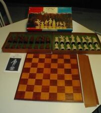 Vintage 1776 Chess Set Bicentennial  US Period Dress Pieces VI Edition 603