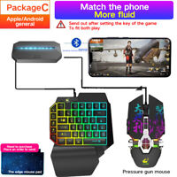 G6 PUBG Gamepad Controller Gaming Keyboard Mouse Converter For Android IOS NEW