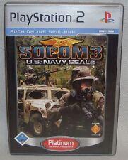PlayStation PS 2 Game PS2 Spiel Socom 3 U.S. Navy Seals Disk sehr gut deutsch