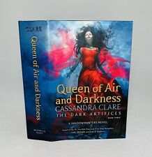 Queen of Air and Darkness-Bk 3-Cassandra Clare-SIGNED!!-TRUE First/1st Edition!!