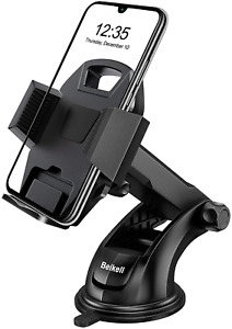 Car Phone Holder, Beikell Adjustable Car Phone Mount Cradle 360° Rotation - for