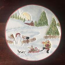 David Carter Brown Sakura Christmas Valley Trivet