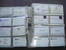 Collectie visite (business) kaartjes +- 1500 stuks van bedrijven wereldwijd