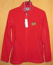 CHICAGO BLACKHAWKS ANTIGUA - Women's Full Zip Red Jacket, NWT Size S