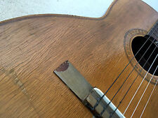 Vintage Giannini Guitarra acústica brasileña 104 clásica española de 6 Cuerdas 1960s