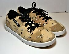 Supra Shoes TK Terry Kennedy Stacks Skate Desert Camo Canvas Size 8.5