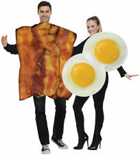 Morris Costumes Adult Unisex NLong Sleeve Foam Bacon Eggs 2 Costumes. FW119014