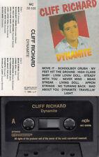 MC Musikkassette - CLIFF RICHARD - Dynamite *Denmark 1985 NCB