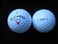 """20  CALLAWAY  """"CXR"""" - """"RED TICK"""" - Golf Balls  - """"A""""  Grade."""