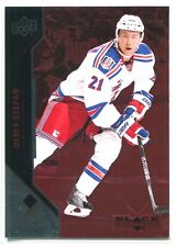 2011-12 Black Diamond Ruby 55 Derek Stepan 37/100 Single Diamond