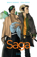 Saga Volume 1 GN Brian K Vaughan Fiona Staples Image #1-6 New NM