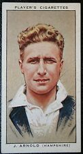 Hampshire County Cricket Club  & Fulham FC     Arnold  Vintage Card  # VGC