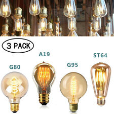 3x E27 LED Vintage Dimmbar Retro Lampe Industrie Glühlampe Filament Glühbirne