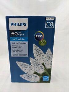 Philips 60 C6 Lights Cool White C8 LED