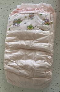 ONE Vtg 1989 Huggies Muppet Babies Plastic Backed Girls Diaper Sz XL 30+lbs
