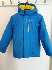 Columbia kids ski jacket size s age 8 blue