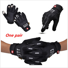 Winter Motorcycle Full Finger Screen Touch Cycling Racing Riding Non-slip Gloves