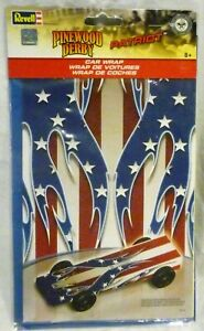 Pinewood Derby Patriot Car Wrap Transfer For Pinewood Derby Racer From Revell