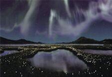Lentikular -Wackelkarte: Nordlichter - Northern Lights - Polarlicht