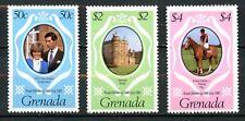 Grenada 1981  Scott #1051 - 1053, MNH, Royal Wedding